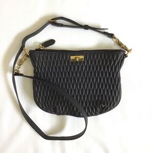 J. Crew quilted baby Brompton leather crossbody